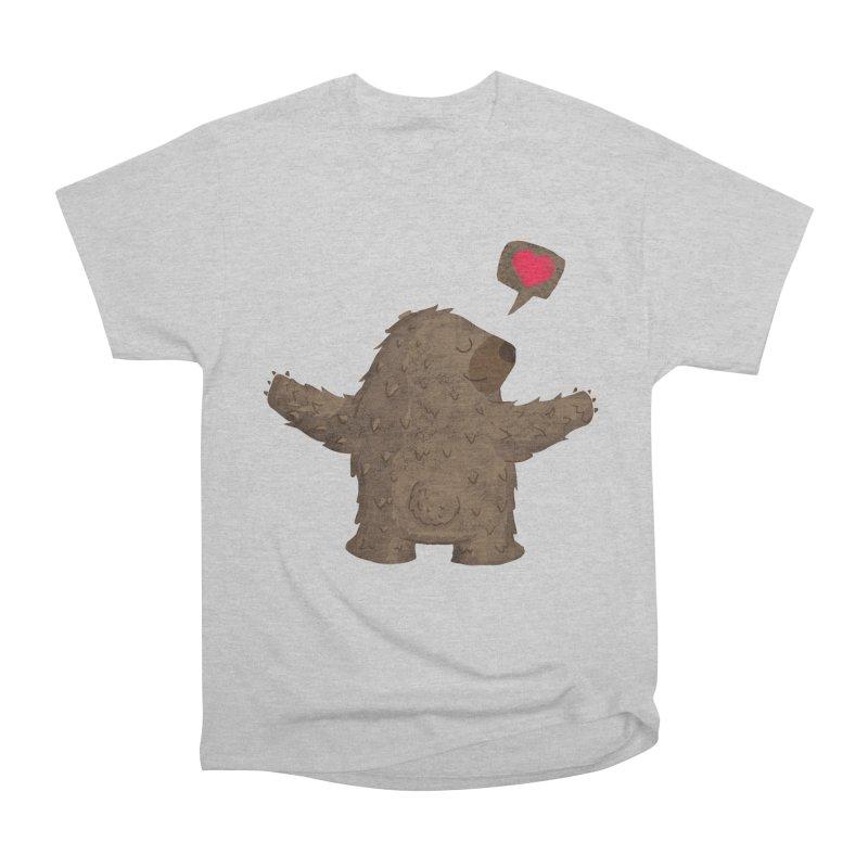 Big Hug Women's Heavyweight Unisex T-Shirt by Rocket Artist Shop