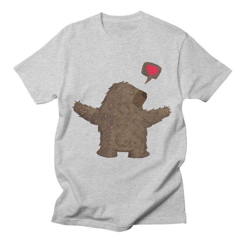 Big Hug Women's Regular Unisex T-Shirt by Rocket Artist Shop