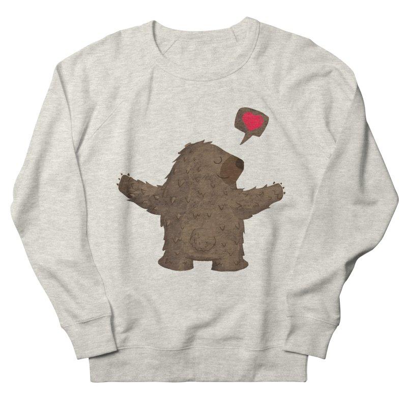 Big Hug Women's French Terry Sweatshirt by Rocket Artist Shop