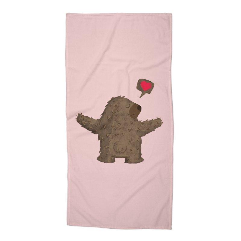 Big Hug Accessories Beach Towel by Rocket Artist Shop
