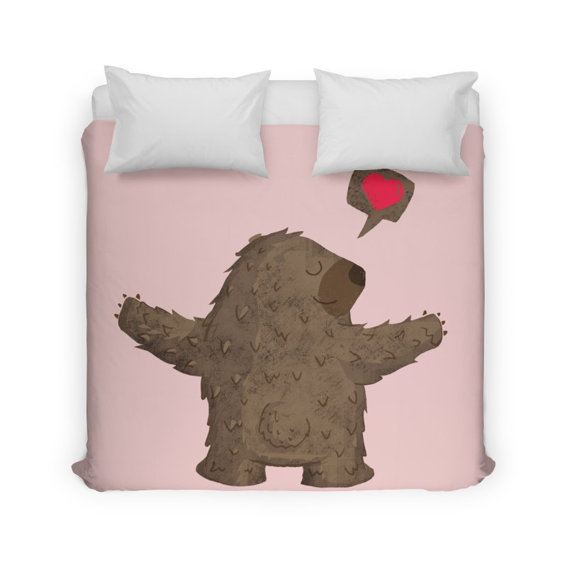 Big Hug Home Duvet by Rocket Artist Shop