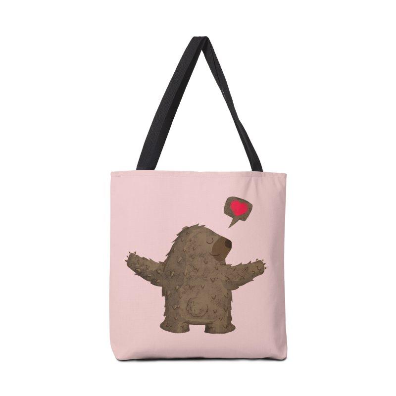 Big Hug Accessories Tote Bag Bag by Rocket Artist Shop