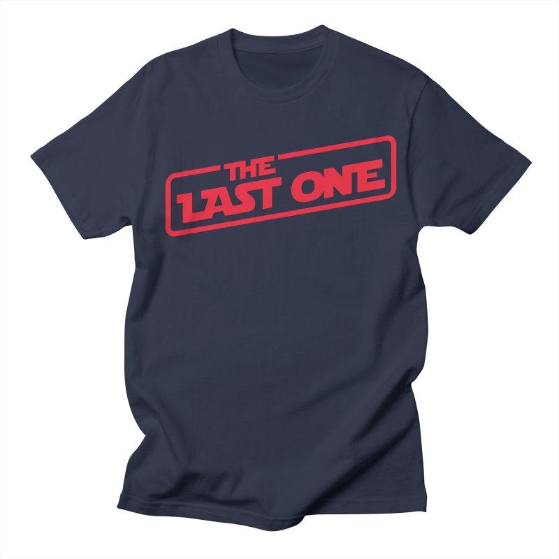 THE LAST ONE Men's Regular T-Shirt by Rocket Artist Shop
