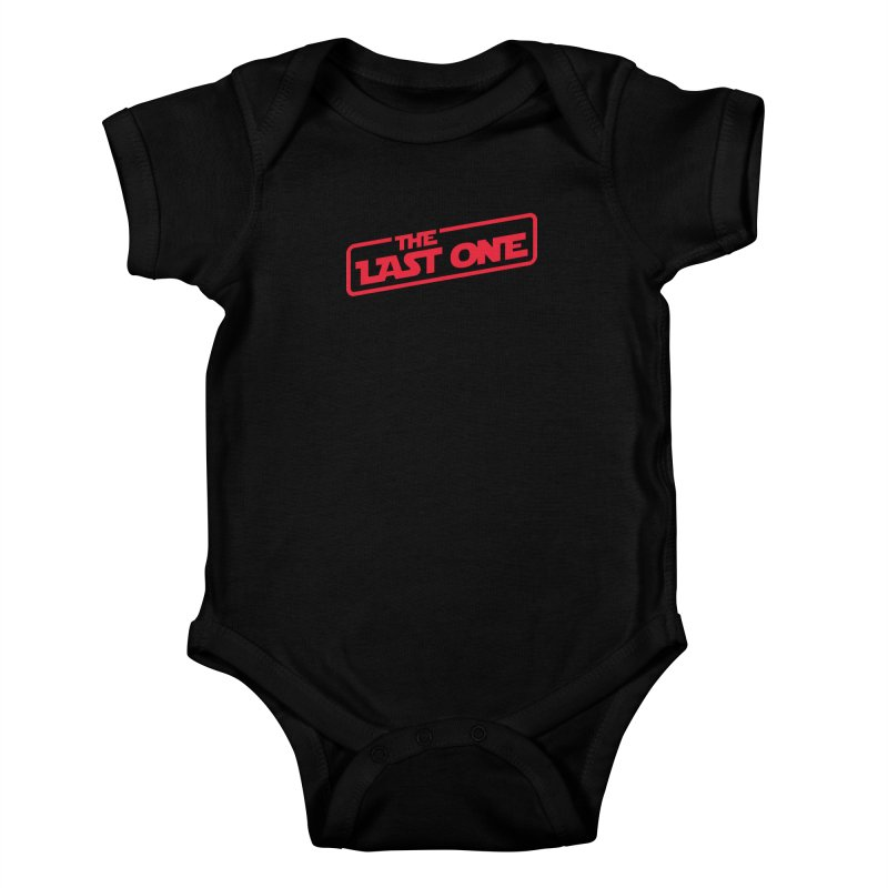 THE LAST ONE Kids Baby Bodysuit by Rocket Artist Shop