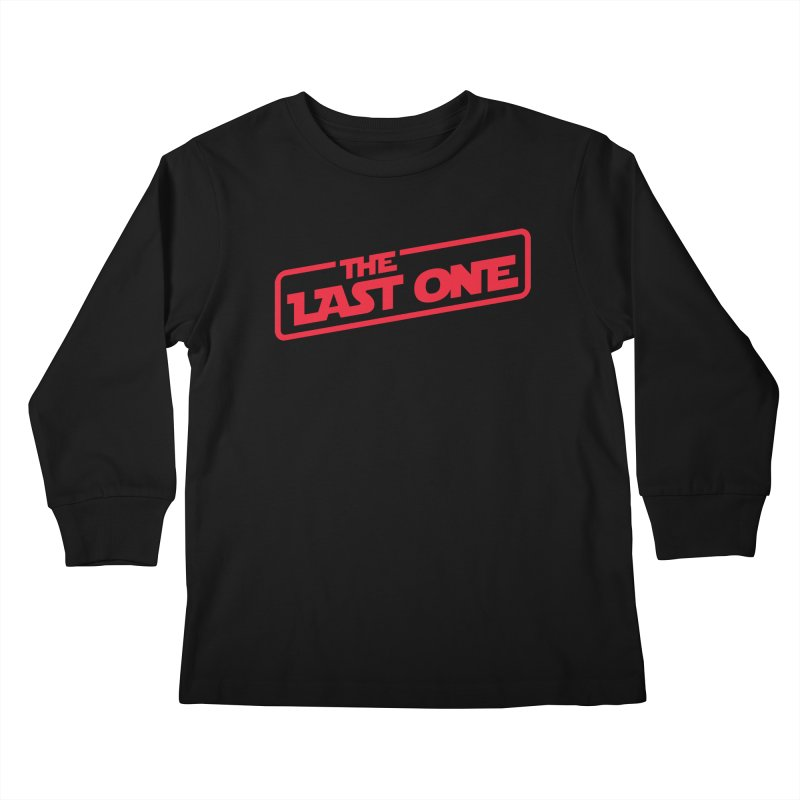 THE LAST ONE Kids Longsleeve T-Shirt by Rocket Artist Shop