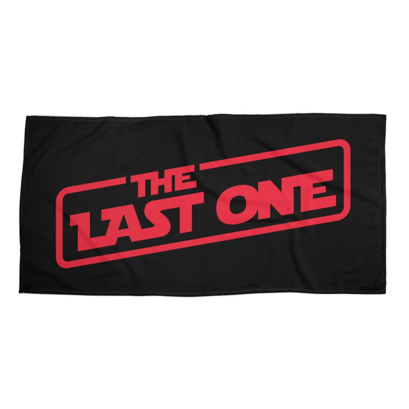 THE LAST ONE Accessories Beach Towel by Rocket Artist Shop