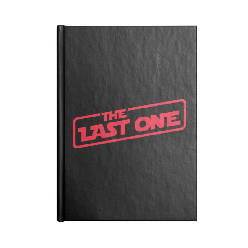 THE LAST ONE Accessories Lined Journal Notebook by Rocket Artist Shop