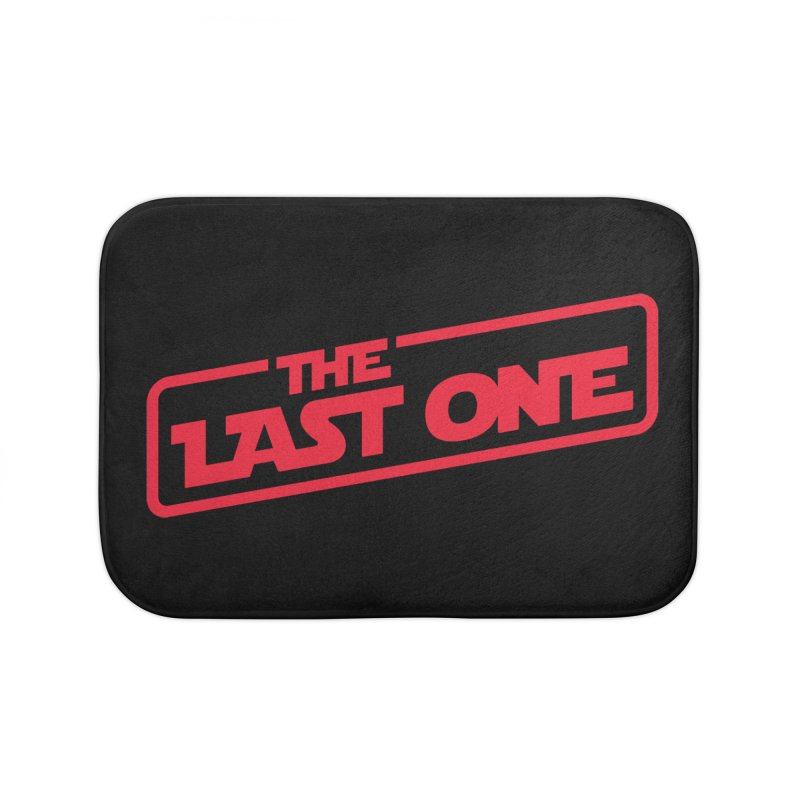 THE LAST ONE Home Bath Mat by Rocket Artist Shop