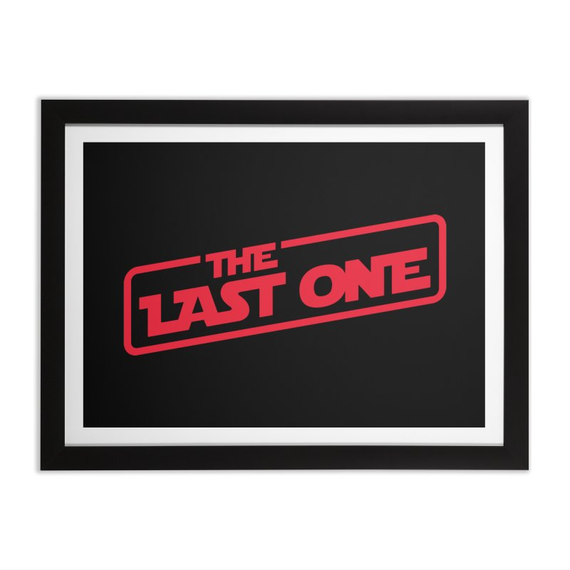 THE LAST ONE Home Framed Fine Art Print by Rocket Artist Shop