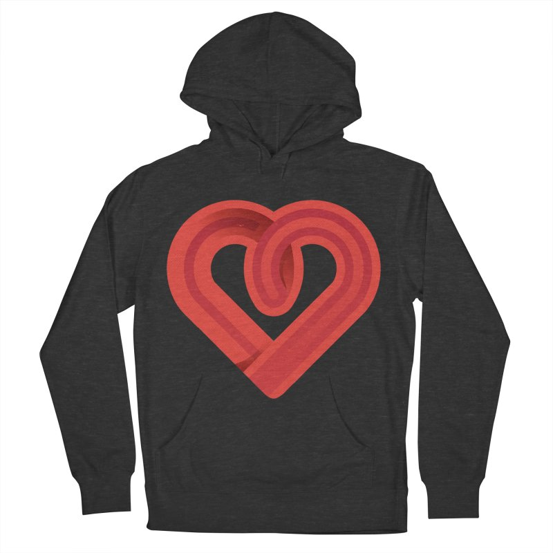 In the name of love Women's French Terry Pullover Hoody by Rocket Artist Shop