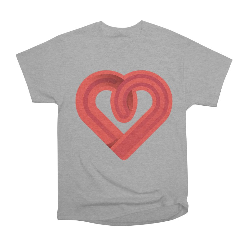 In the name of love Women's Heavyweight Unisex T-Shirt by Rocket Artist Shop