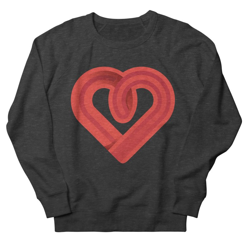 In the name of love Women's French Terry Sweatshirt by Rocket Artist Shop
