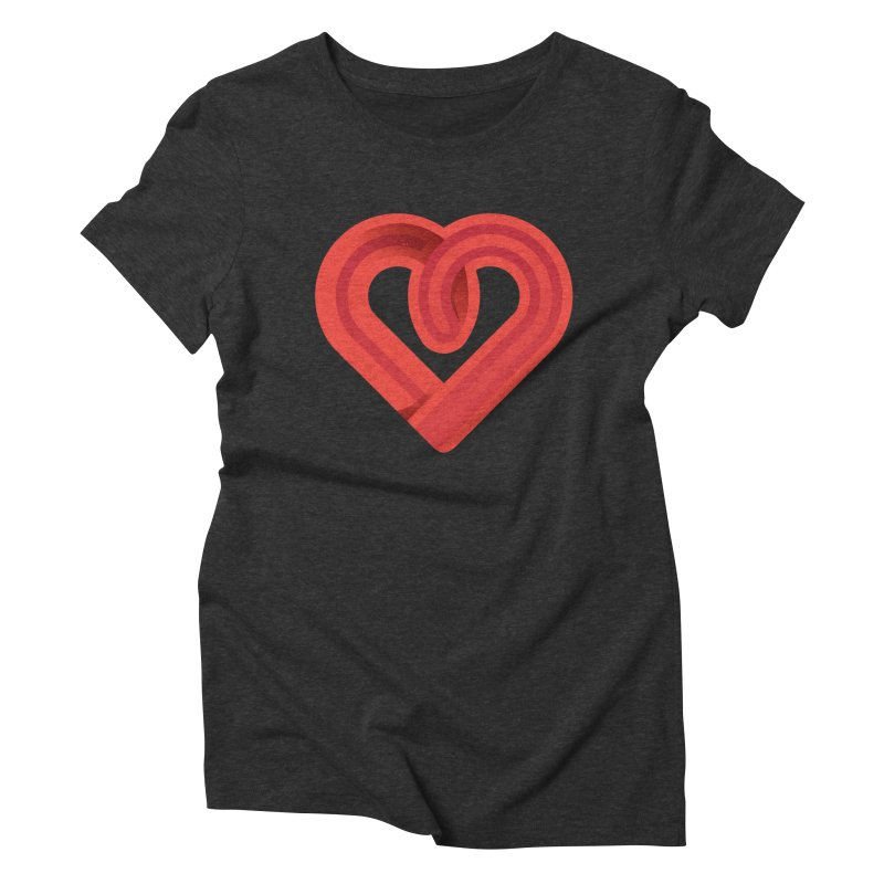 In the name of love Women's Triblend T-Shirt by Rocket Artist Shop