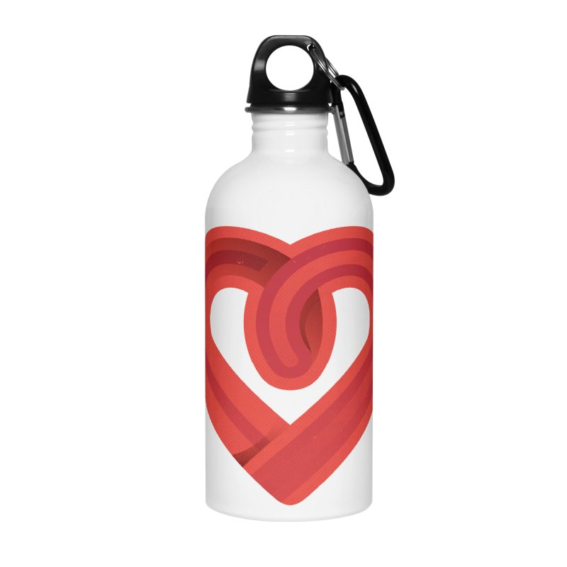 In the name of love Accessories Water Bottle by Rocket Artist Shop