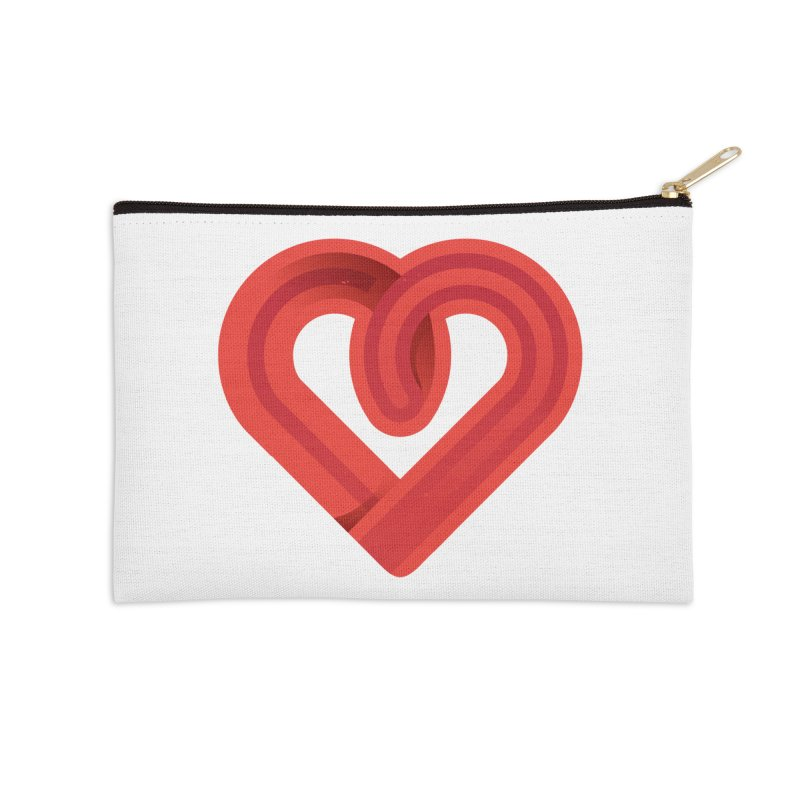 In the name of love Accessories Zip Pouch by Rocket Artist Shop