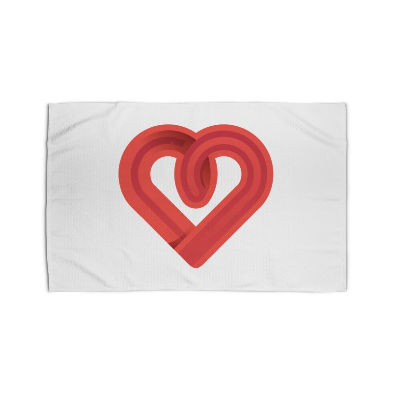 In the name of love Home Rug by Rocket Artist Shop