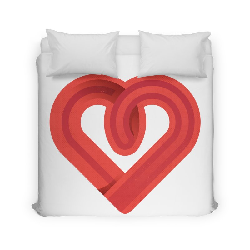 In the name of love Home Duvet by Rocket Artist Shop