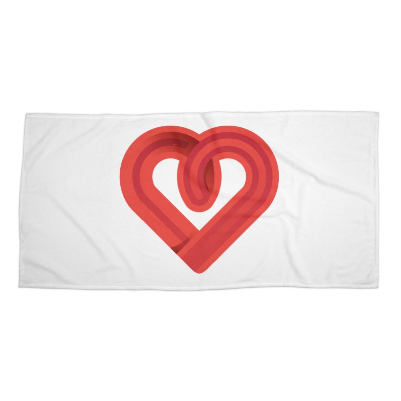 In the name of love Accessories Beach Towel by Rocket Artist Shop
