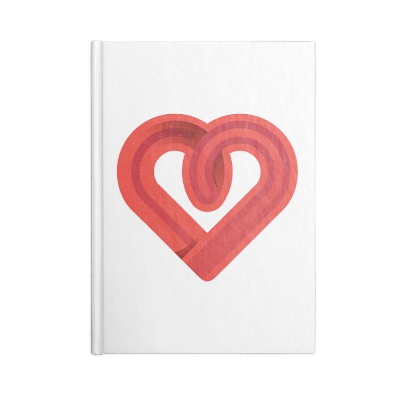 In the name of love Accessories Notebook by Rocket Artist Shop