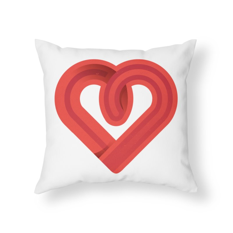 In the name of love Home Throw Pillow by Rocket Artist Shop