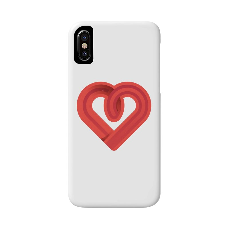 In the name of love Accessories Phone Case by Rocket Artist Shop