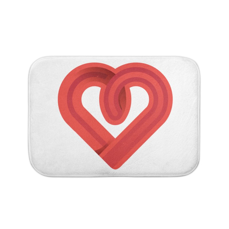 In the name of love Home Bath Mat by Rocket Artist Shop