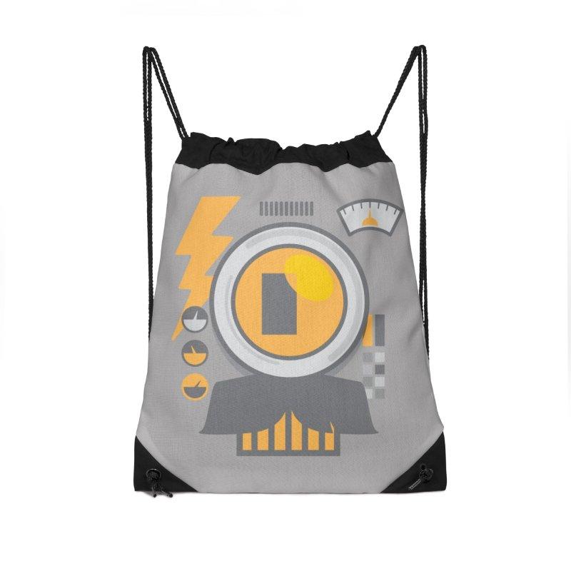 MR RoBT Accessories Drawstring Bag Bag by Rocket Artist Shop