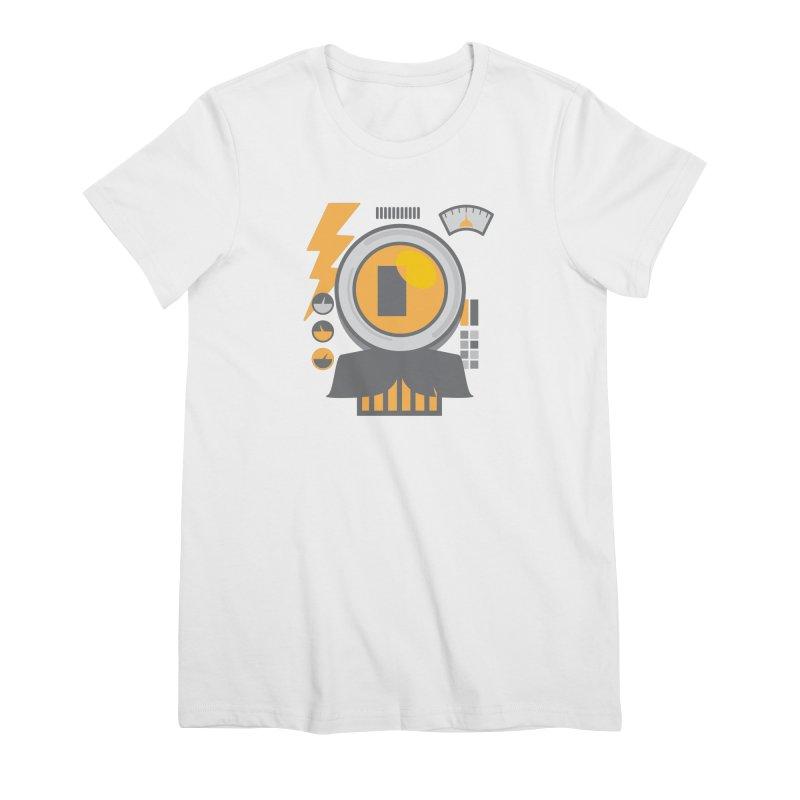 MR RoBT Women's Premium T-Shirt by Rocket Artist Shop