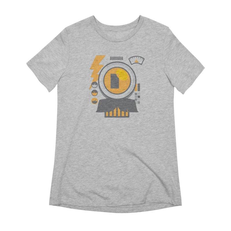 MR RoBT Women's Extra Soft T-Shirt by Rocket Artist Shop