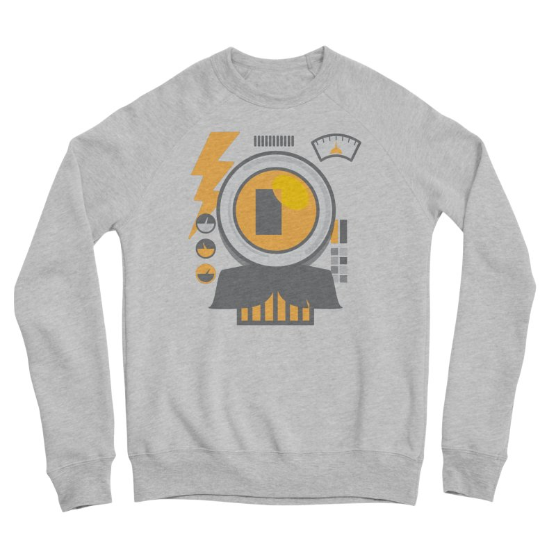 MR RoBT Men's Sponge Fleece Sweatshirt by Rocket Artist Shop