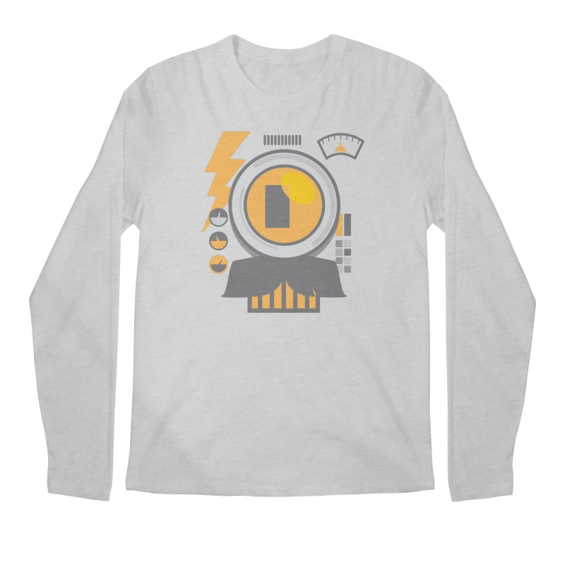 MR RoBT Men's Regular Longsleeve T-Shirt by Rocket Artist Shop