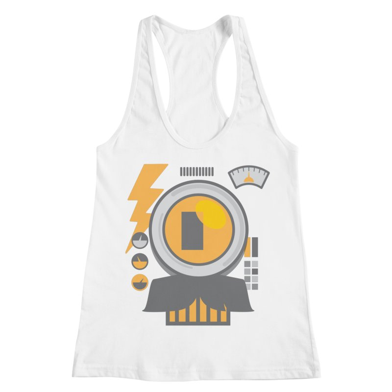 MR RoBT Women's Racerback Tank by Rocket Artist Shop