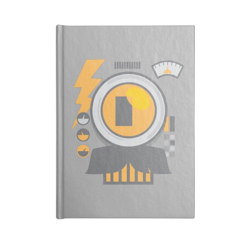 MR RoBT Accessories Blank Journal Notebook by Rocket Artist Shop