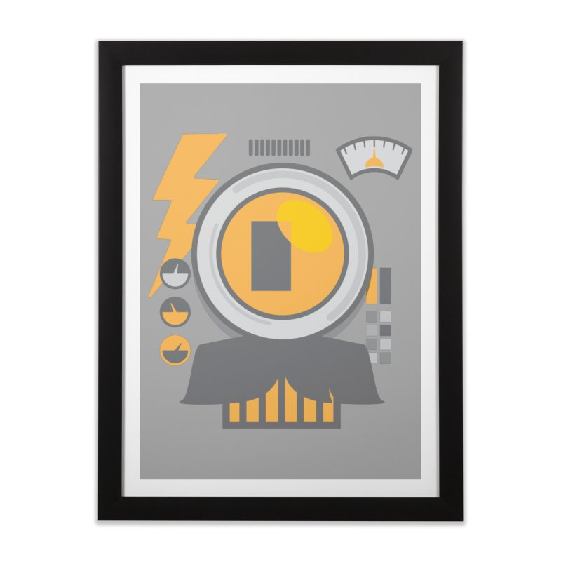 MR RoBT Home Framed Fine Art Print by Rocket Artist Shop