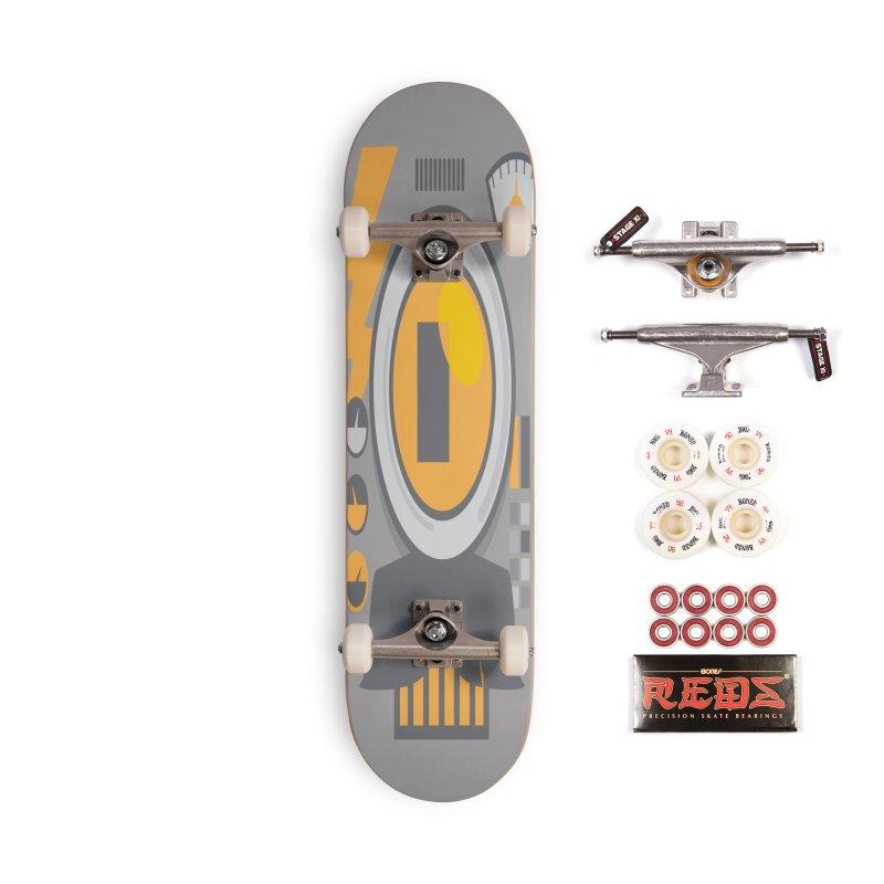 MR RoBT Accessories Skateboard by Rocket Artist Shop