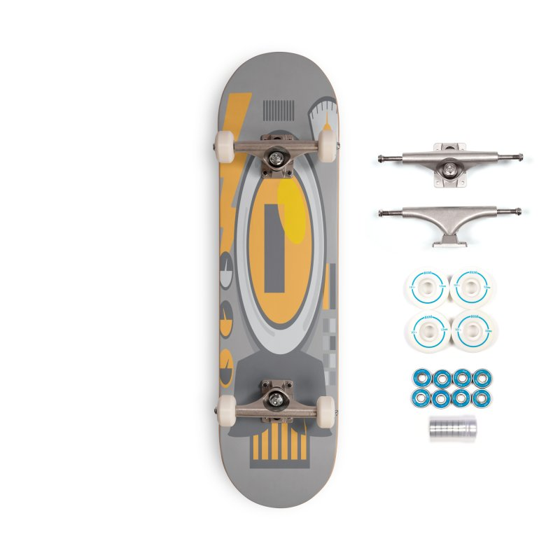 MR RoBT Accessories Skateboard by Rocket Artist Shop