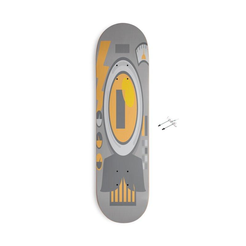 MR RoBT Accessories With Hanging Hardware Skateboard by Rocket Artist Shop