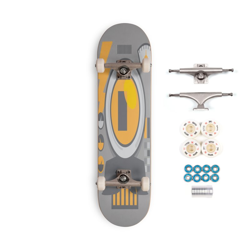 MR RoBT Accessories Complete - Premium Skateboard by Rocket Artist Shop