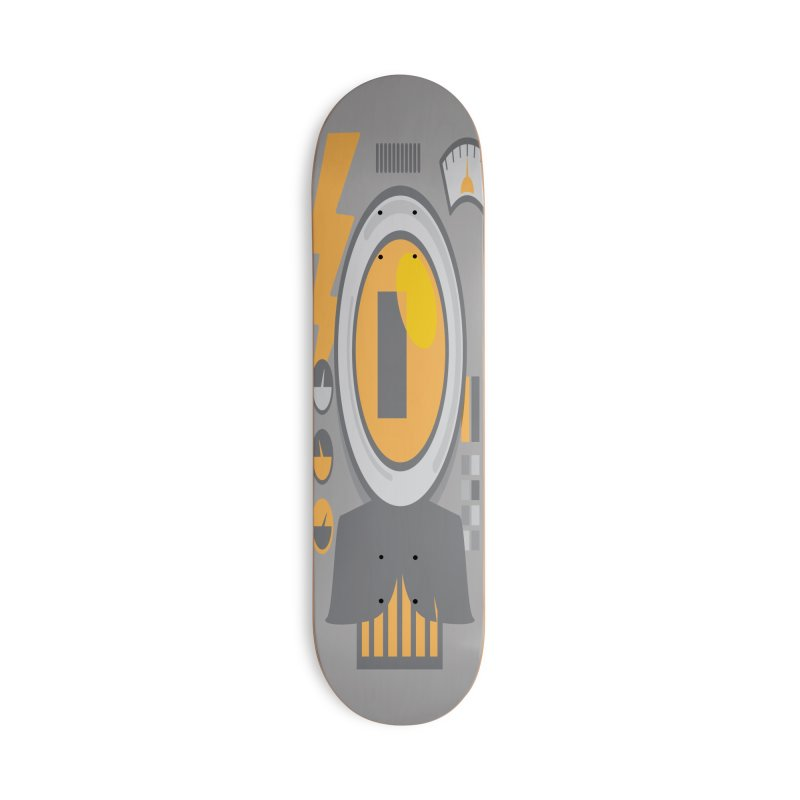 MR RoBT Accessories Deck Only Skateboard by Rocket Artist Shop