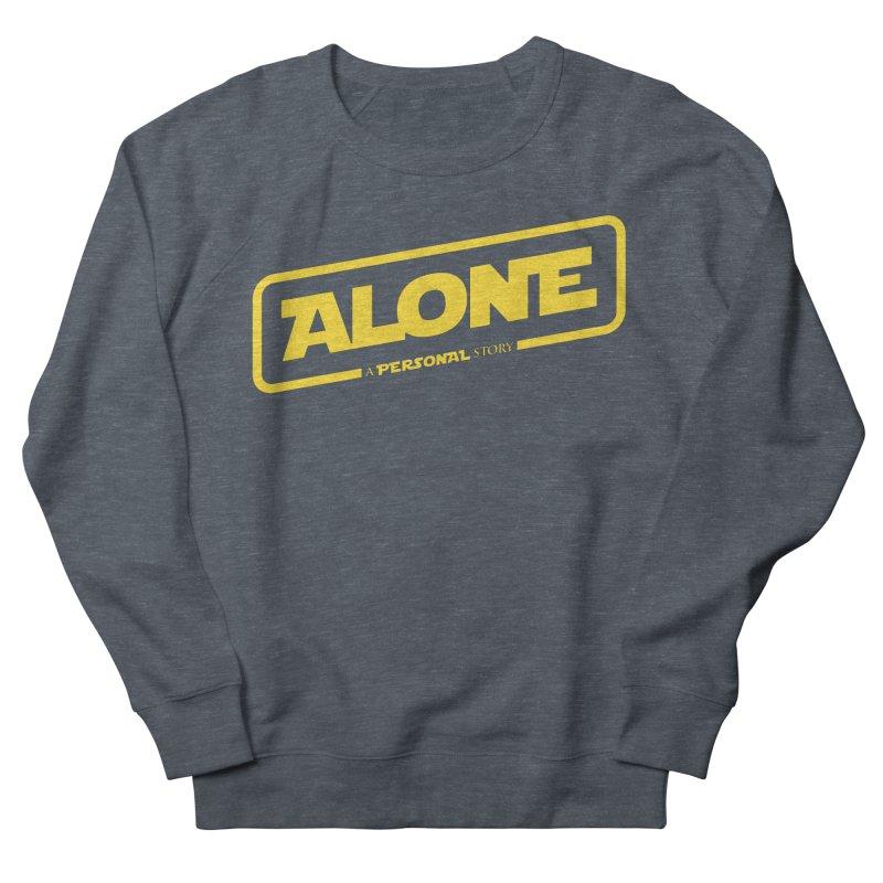 Alone Men's Sweatshirt by Rocket Artist Shop