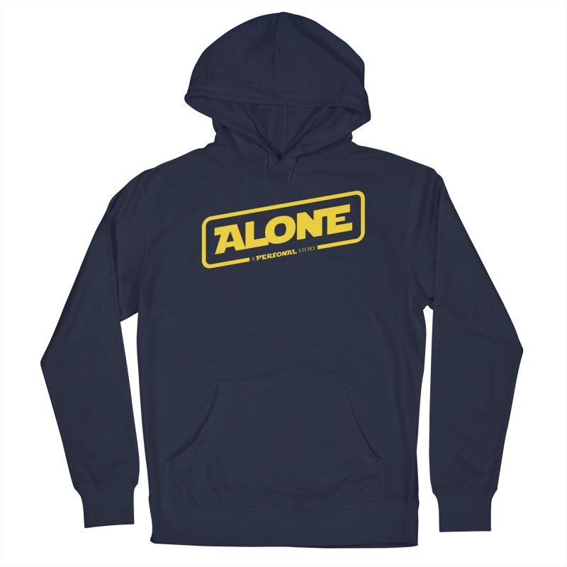 Alone Men's Pullover Hoody by Rocket Artist Shop