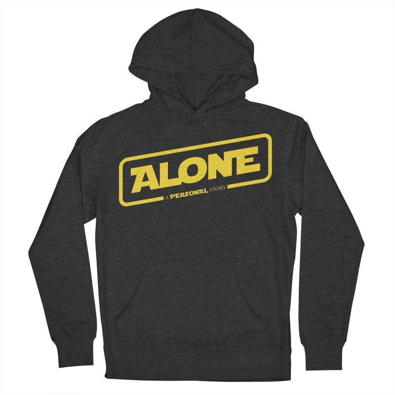 Alone Women's French Terry Pullover Hoody by Rocket Artist Shop