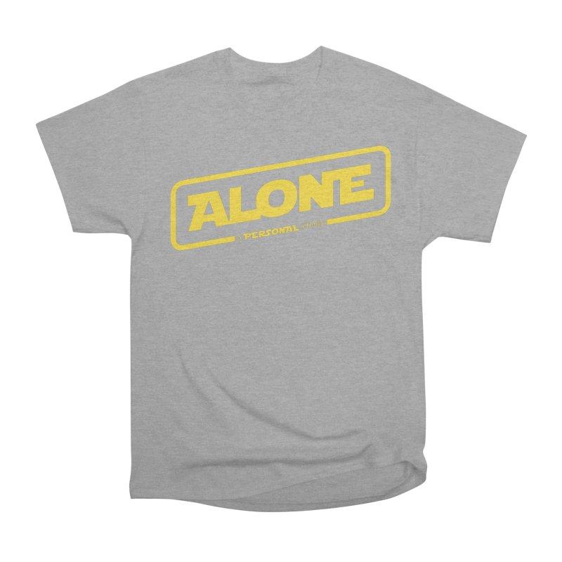 Alone Women's Classic Unisex T-Shirt by Rocket Artist Shop