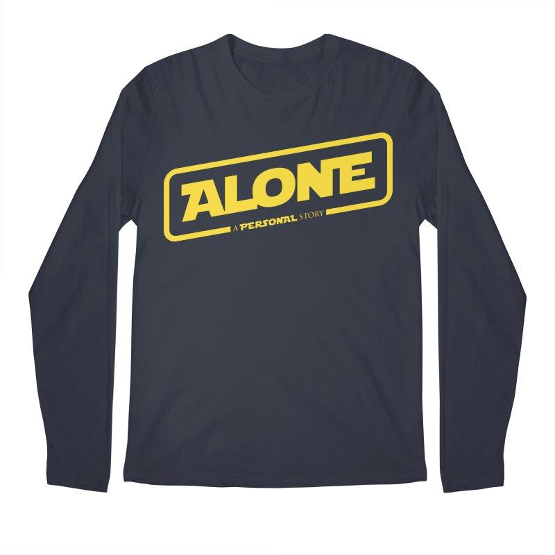 Alone Men's Regular Longsleeve T-Shirt by Rocket Artist Shop