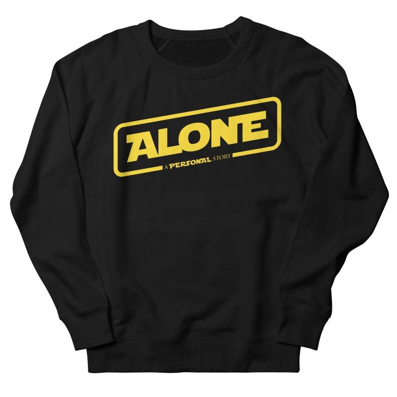 Alone Women's Sweatshirt by Rocket Artist Shop