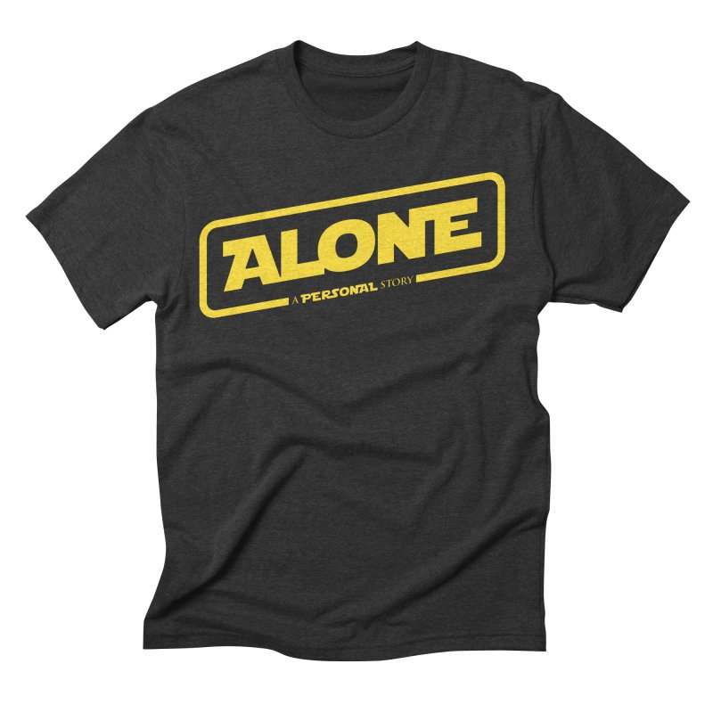 Alone Men's Triblend T-Shirt by Rocket Artist Shop