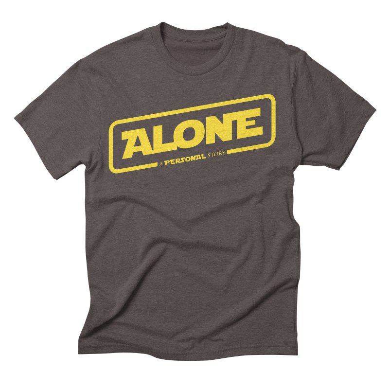 Alone Men's Triblend T-Shirt by Rocket Artist Shop
