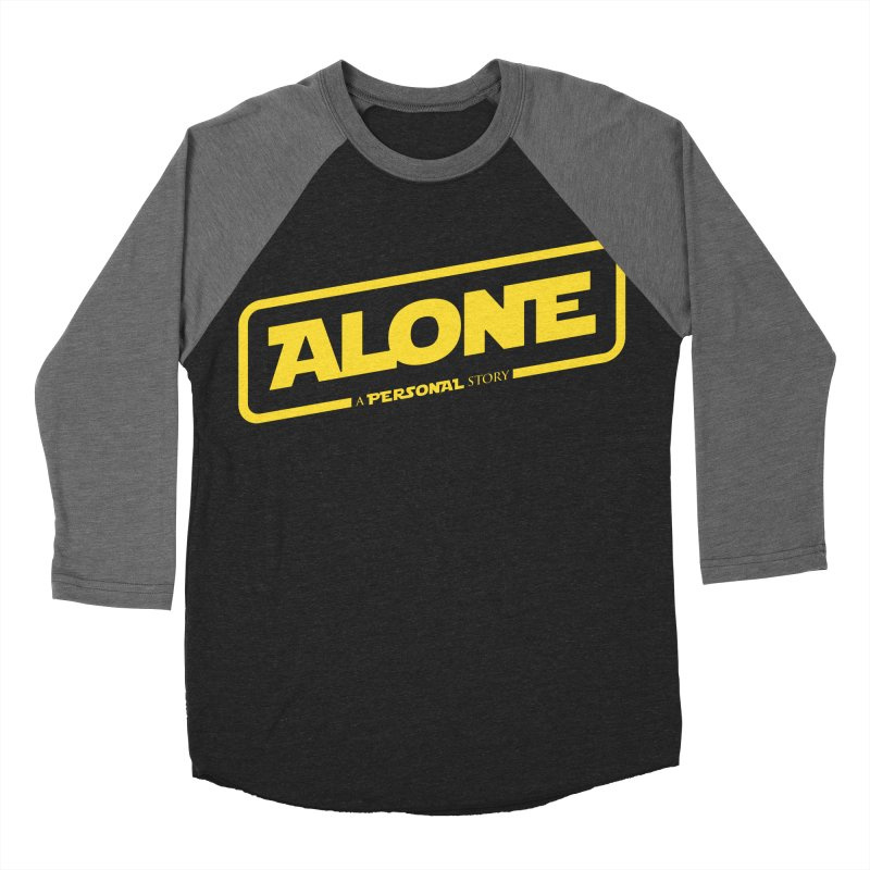 Alone Women's Baseball Triblend Longsleeve T-Shirt by Rocket Artist Shop