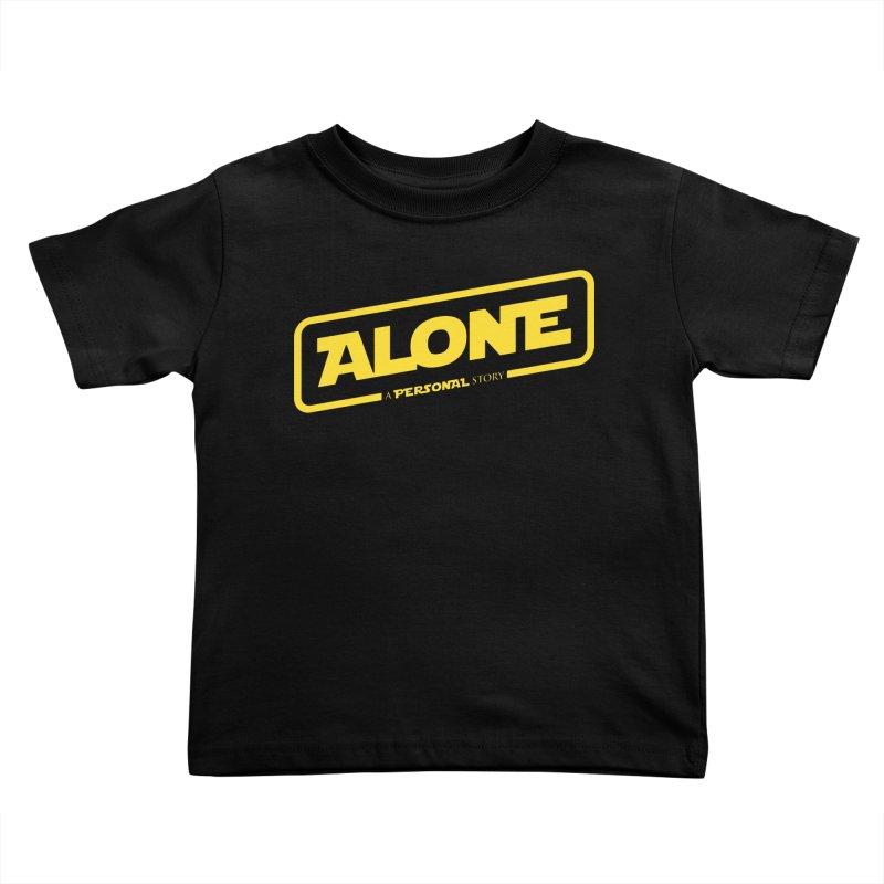 Alone Kids Toddler T-Shirt by Rocket Artist Shop