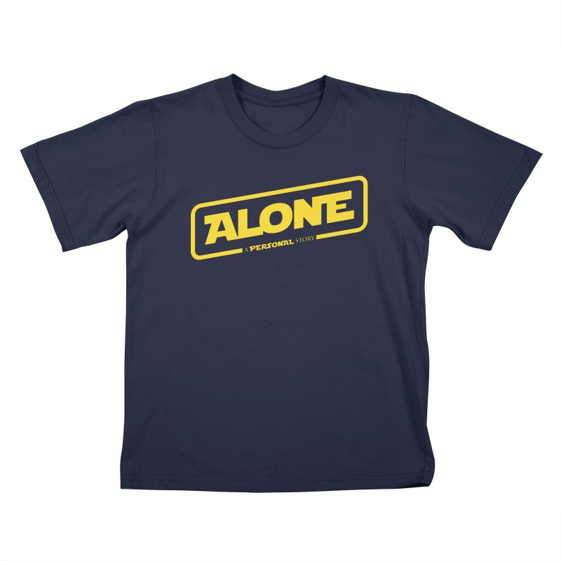 Alone Kids T-Shirt by Rocket Artist Shop